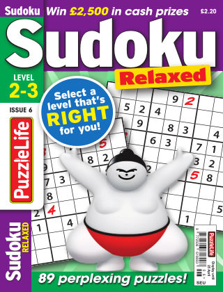 PuzzleLife Sudoku Relaxed 2-3 Issue 006