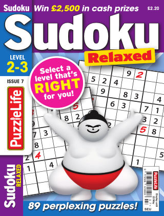 PuzzleLife Sudoku Relaxed 2-3 Issue 007