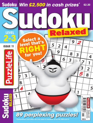 PuzzleLife Sudoku Relaxed 2-3 Issue 011