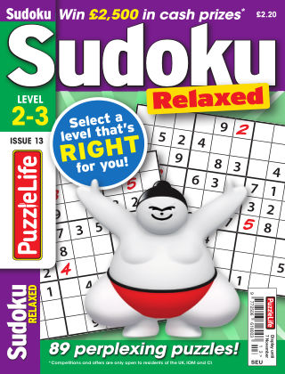 PuzzleLife Sudoku Relaxed 2-3 Issue 013