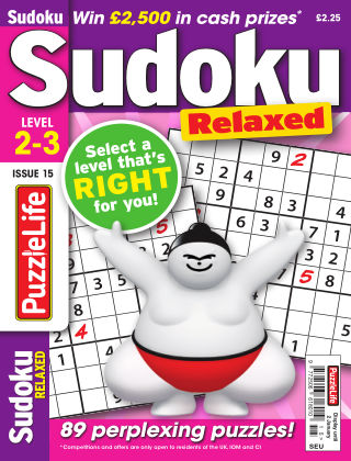 PuzzleLife Sudoku Relaxed 2-3 Issue 015