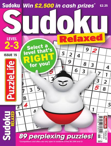 PuzzleLife Sudoku Relaxed 2-3 November 28, 2019 00:00