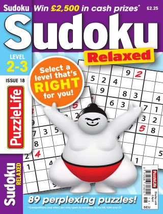 PuzzleLife Sudoku Relaxed 2-3 Issue 018