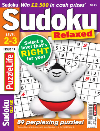 PuzzleLife Sudoku Relaxed 2-3 Issue 019