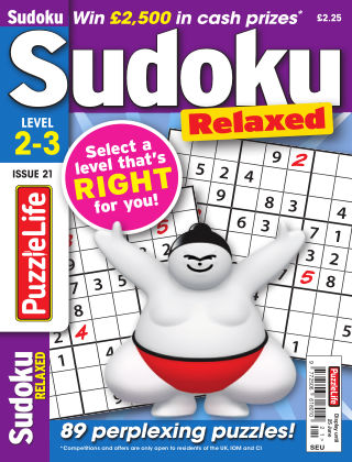 PuzzleLife Sudoku Relaxed 2-3 Issue 021