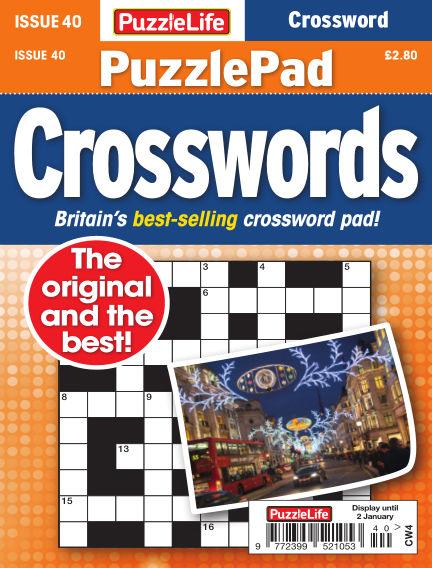 PuzzleLife PuzzlePad Crosswords December 05, 2019 00:00