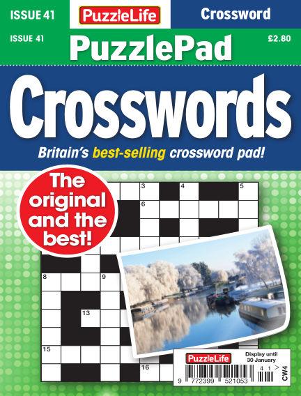 PuzzleLife PuzzlePad Crosswords January 02, 2020 00:00
