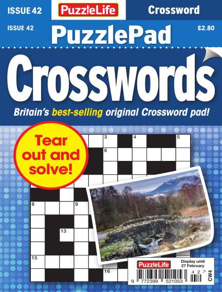 PuzzleLife PuzzlePad Crosswords January 30, 2020 00:00