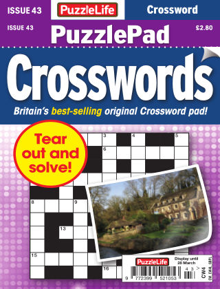 PuzzleLife PuzzlePad Crosswords Issue 043