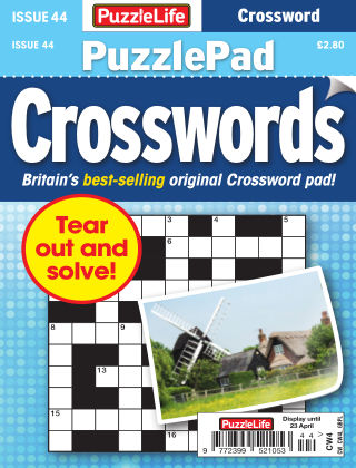 PuzzleLife PuzzlePad Crosswords Issue 044
