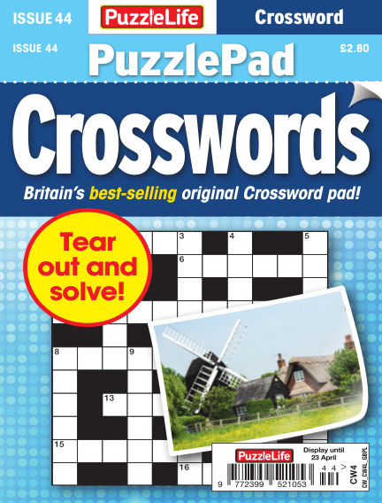 PuzzleLife PuzzlePad Crosswords March 26, 2020 00:00