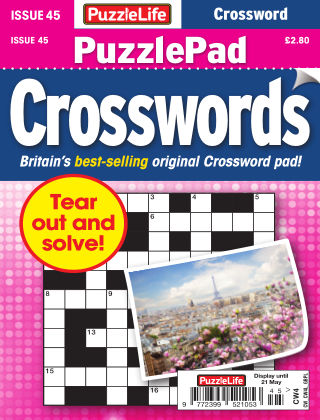 PuzzleLife PuzzlePad Crosswords Issue 045