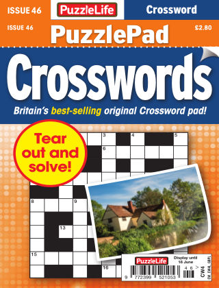 PuzzleLife PuzzlePad Crosswords Issue 046