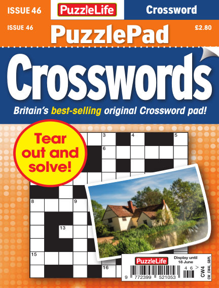 PuzzleLife PuzzlePad Crosswords May 21, 2020 00:00