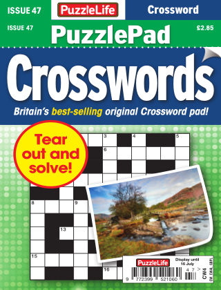 PuzzleLife PuzzlePad Crosswords Issue 047