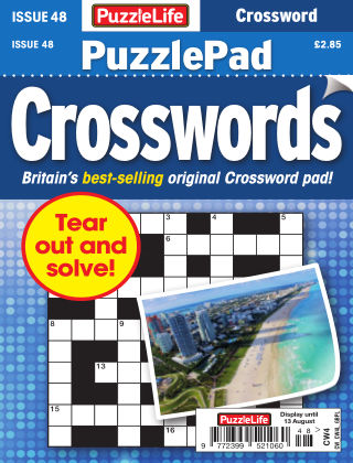 PuzzleLife PuzzlePad Crosswords Issue 048