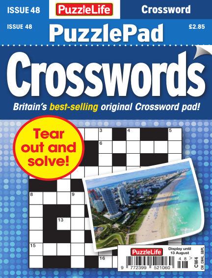 PuzzleLife PuzzlePad Crosswords July 16, 2020 00:00