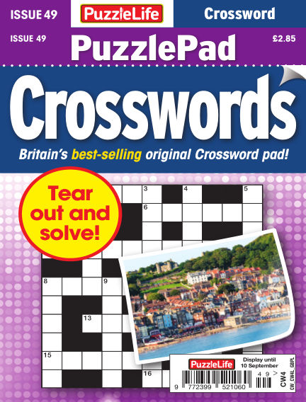 PuzzleLife PuzzlePad Crosswords August 13, 2020 00:00