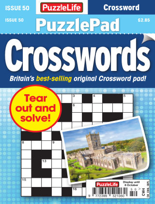 PuzzleLife PuzzlePad Crosswords Issue 050