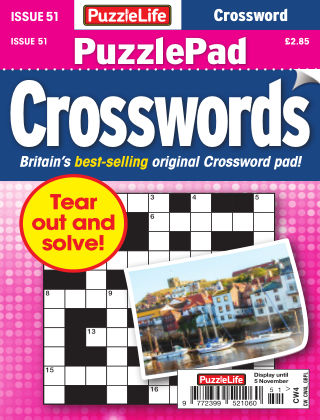 PuzzleLife PuzzlePad Crosswords Issue 051