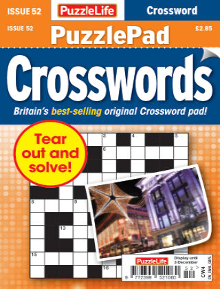 PuzzleLife PuzzlePad Crosswords Issue 052