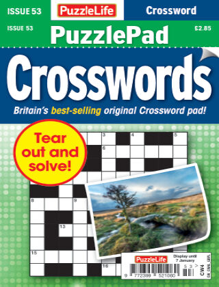 PuzzleLife PuzzlePad Crosswords Issue 053