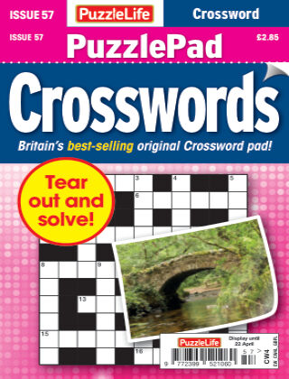 PuzzleLife PuzzlePad Crosswords 57