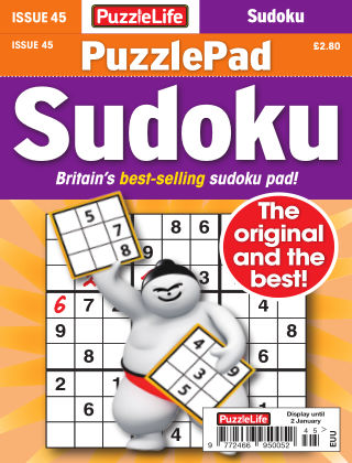 PuzzleLife PuzzlePad Sudoku Issue 045