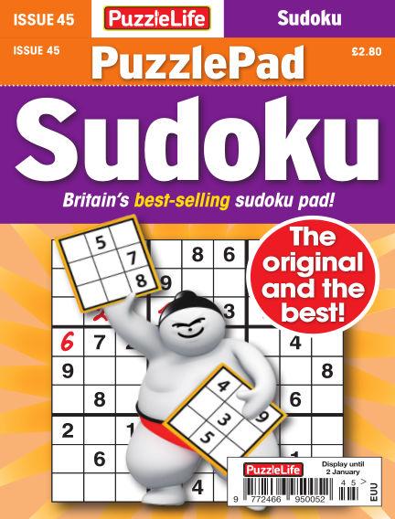 PuzzleLife PuzzlePad Sudoku December 05, 2019 00:00
