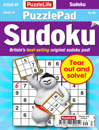 PuzzleLife PuzzlePad Sudoku Issue 049