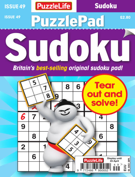 PuzzleLife PuzzlePad Sudoku March 26, 2020 00:00