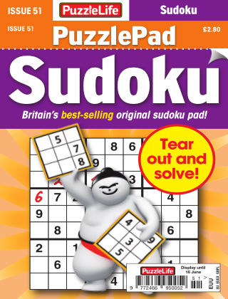PuzzleLife PuzzlePad Sudoku Issue 051