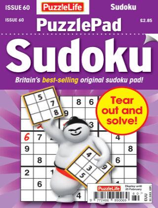 PuzzleLife PuzzlePad Sudoku Issue 060