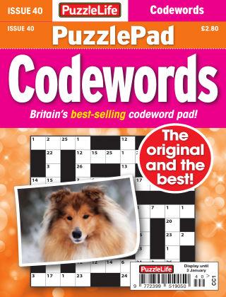 PuzzleLife PuzzlePad Codewords Issue 040