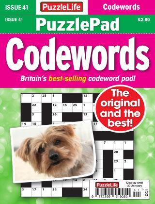PuzzleLife PuzzlePad Codewords Issue 041