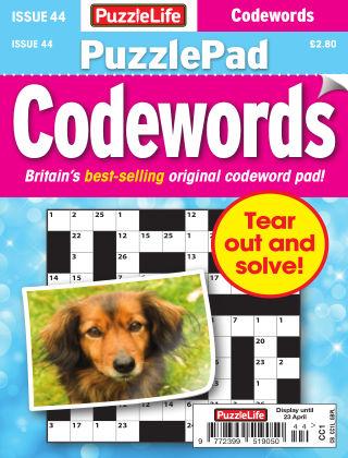 PuzzleLife PuzzlePad Codewords Issue 044