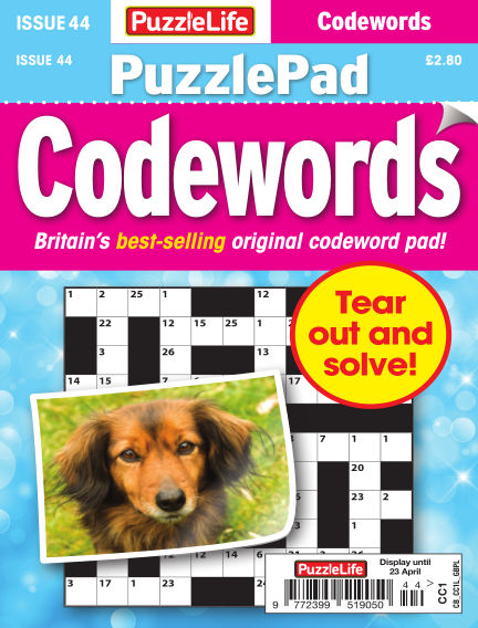 PuzzleLife PuzzlePad Codewords March 26, 2020 00:00