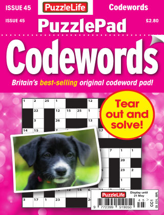 PuzzleLife PuzzlePad Codewords Issue 045