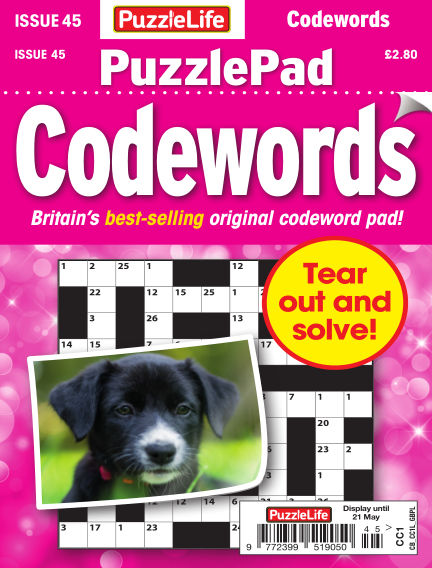 PuzzleLife PuzzlePad Codewords April 23, 2020 00:00