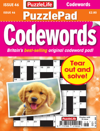 PuzzleLife PuzzlePad Codewords Issue 046