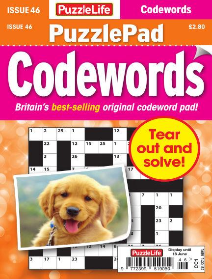 PuzzleLife PuzzlePad Codewords May 21, 2020 00:00