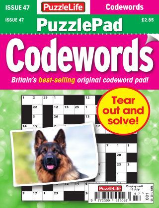 PuzzleLife PuzzlePad Codewords Issue 047