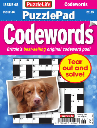 PuzzleLife PuzzlePad Codewords Issue 048