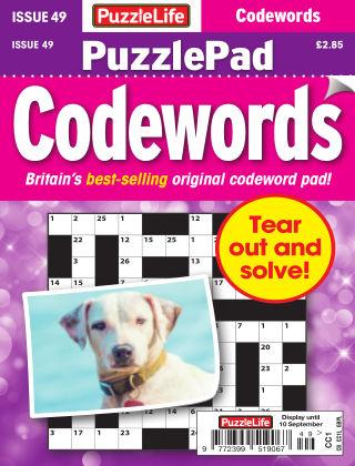 PuzzleLife PuzzlePad Codewords Issue 049
