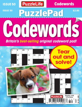 PuzzleLife PuzzlePad Codewords Issue 050