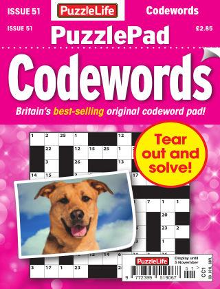 PuzzleLife PuzzlePad Codewords Issue 051
