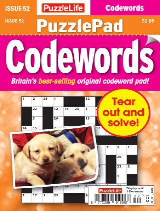PuzzleLife PuzzlePad Codewords Issue 052