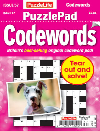 PuzzleLife PuzzlePad Codewords Issue 057