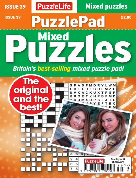 PuzzleLife PuzzlePad Puzzles December 05, 2019 00:00