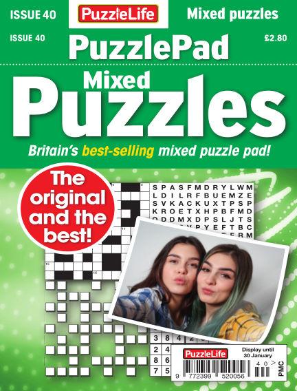 PuzzleLife PuzzlePad Puzzles January 02, 2020 00:00
